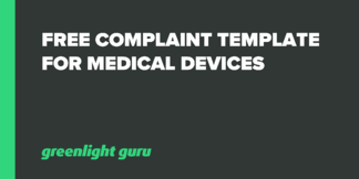 Free Complaint Template for Medical Devices - Featured Image