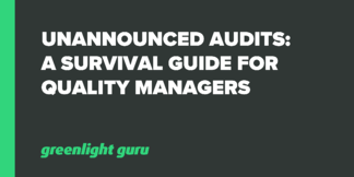 Unannounced Audits: A Survival Guide for Quality Managers - Featured Image