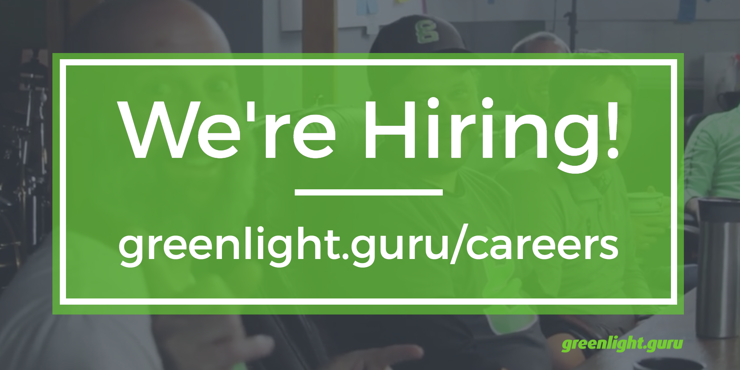 Looking to join a fun, fast growing SaaS company? greenlight.guru is hiring in all areas! - Featured Image