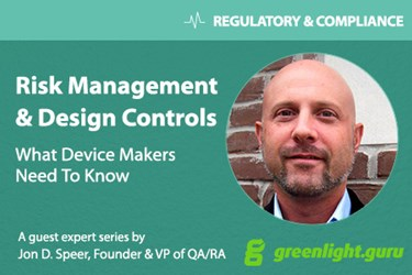 Why You Need To Stop Treating Risk Management & Design Controls as Checkbox Activities - Featured Image