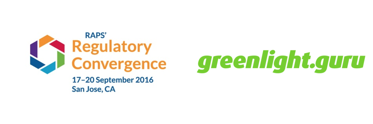 greenlight.guru Invited to Host Two Workshop Sessions at RAPS Convergence San Jose 2016 - Featured Image