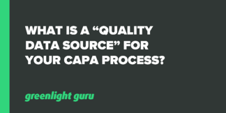 """What is a """"Quality Data Source"""" for your CAPA Process? - Featured Image"""