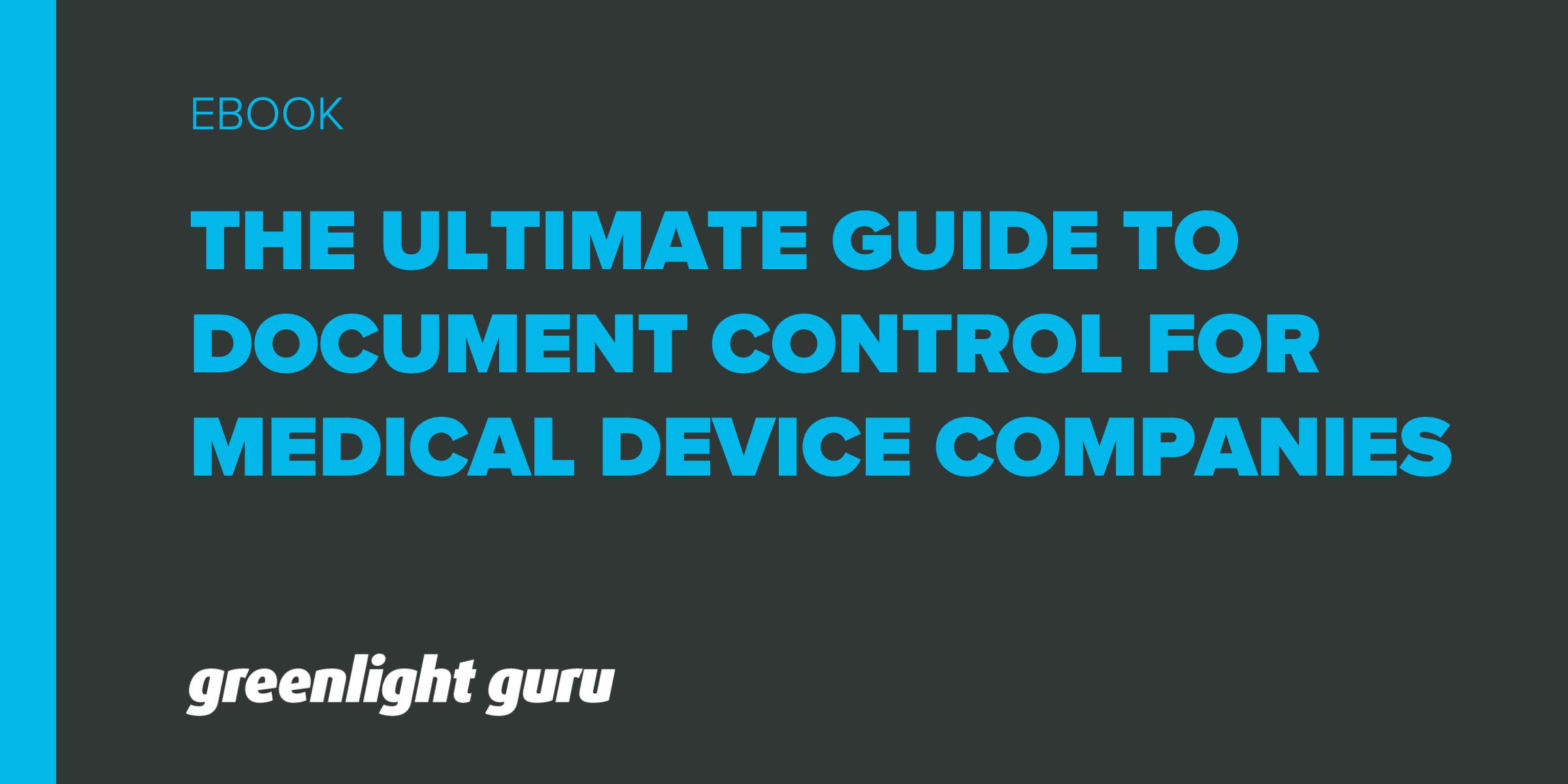 UG-document-control-medical-device-companies